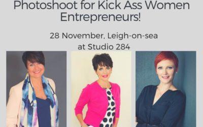 Personal Branding Photoshoot  for Kick Ass Essex Women Entrepreneurs