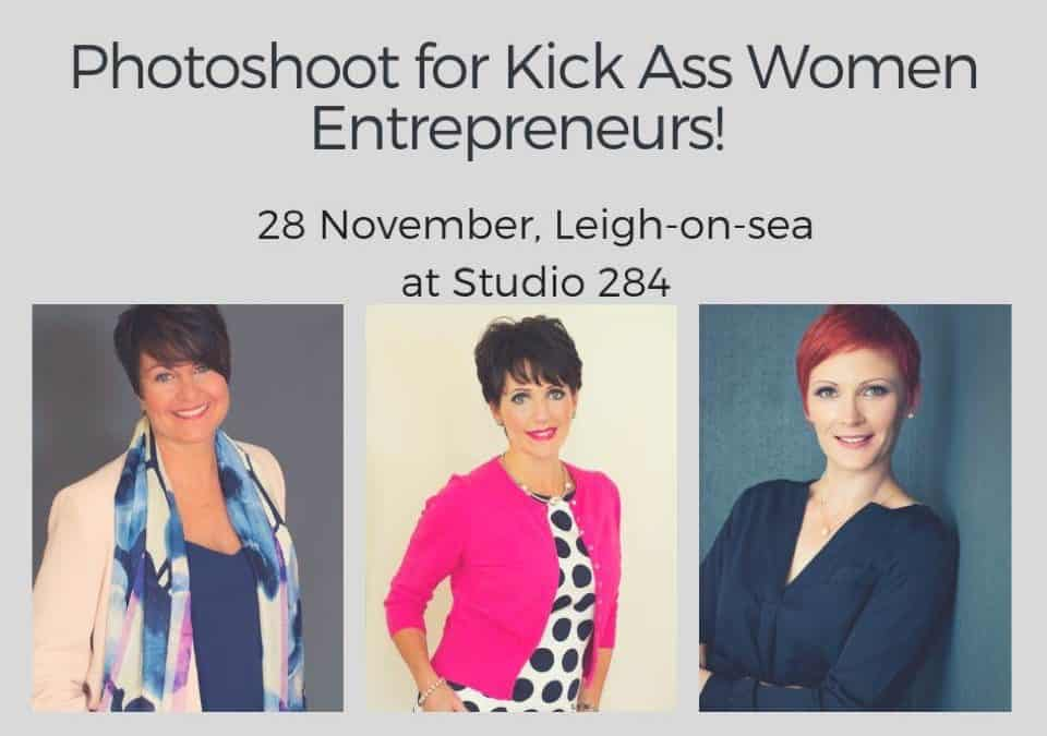 Personal Branding Photoshoot  for Kick Ass Essex Women Entrepreneurs
