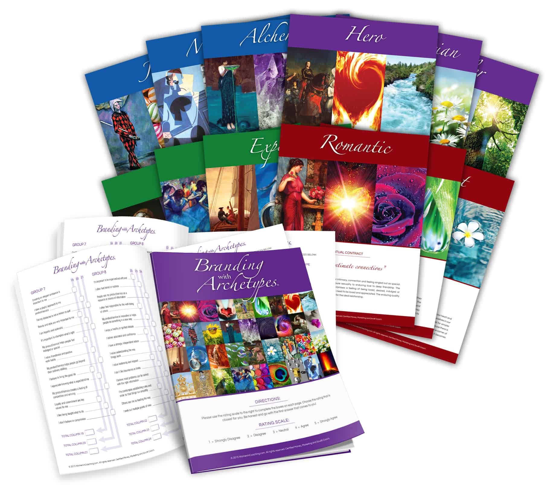 Branding With Archetypes cards
