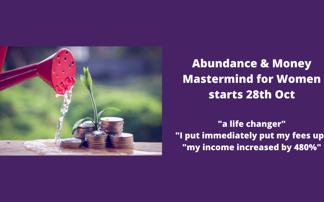Abundance and Money Mastermind Launches 28 October!