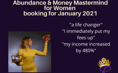 Abundance and Money Mastermind Launches 6 January 2021!
