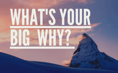 "What's your Big ""Why?"""